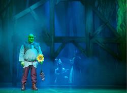 Shrek en el Granero