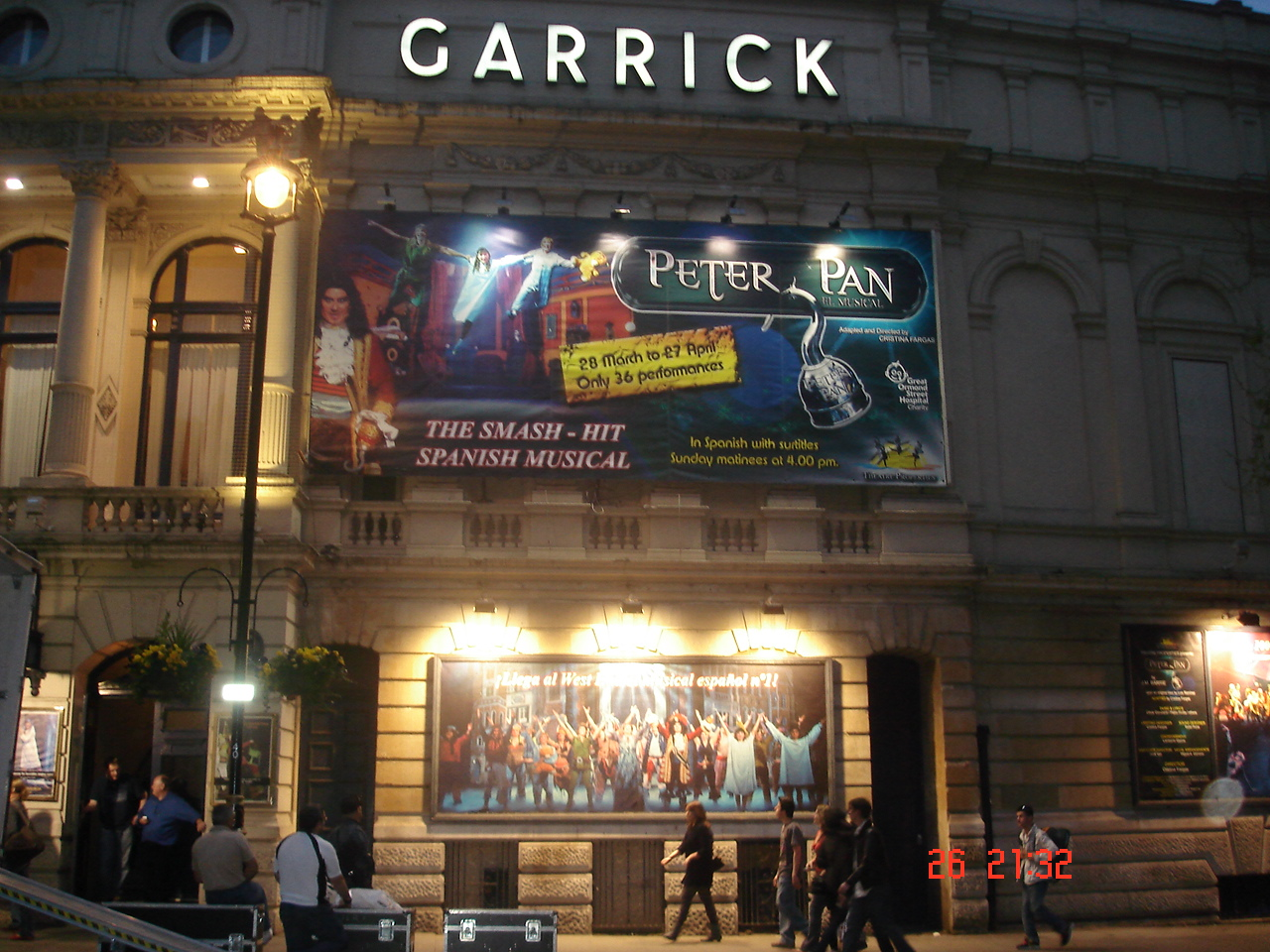 Fachada Teatro de Londres