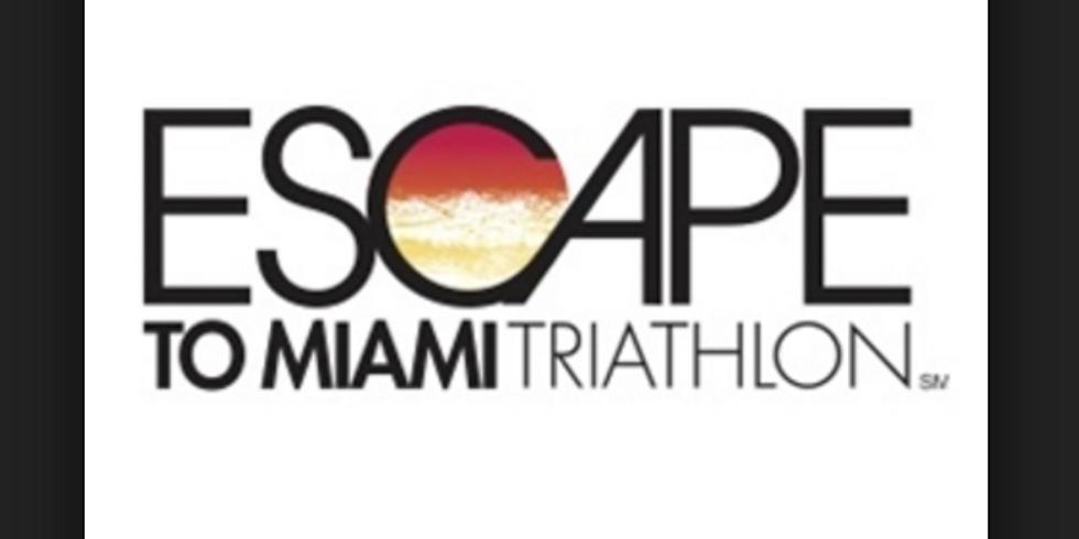 Training for the 2019 Escape to Miami Triathlon