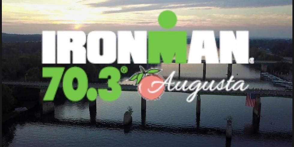 Training for 2019 IRONMAN 70.3 Augusta