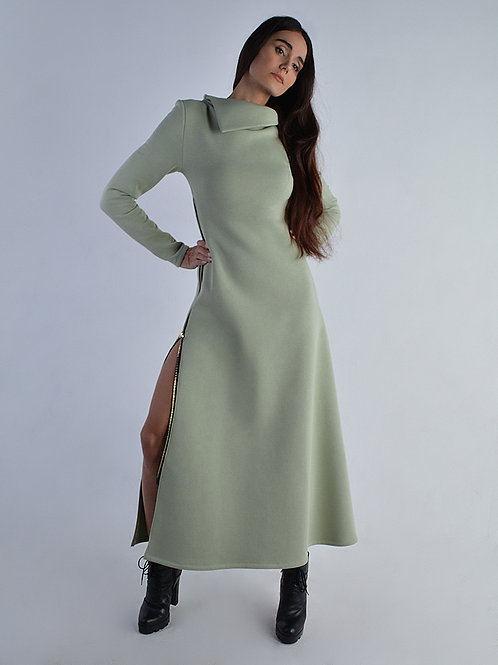 Платье утеплённое