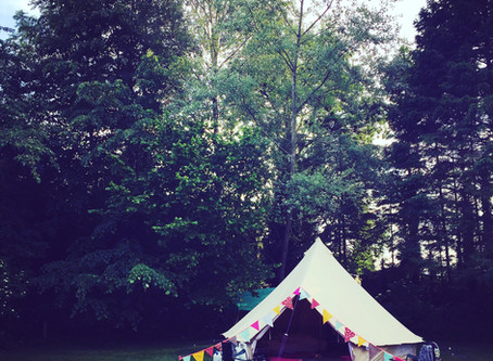 Tips for camping so you actually enjoy it whatever the weather!