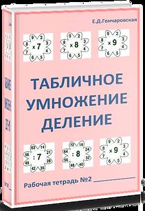 табличное умножение и деление