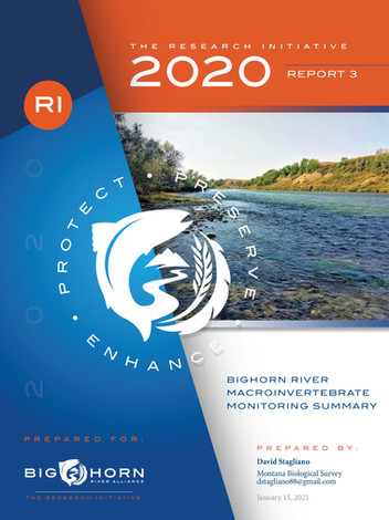 Bighorn River Macroinvertebrate Monitoring Summary