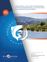 Yellowtail Unit and the Bighorn River: Governmental Authorities and Operating Criteria