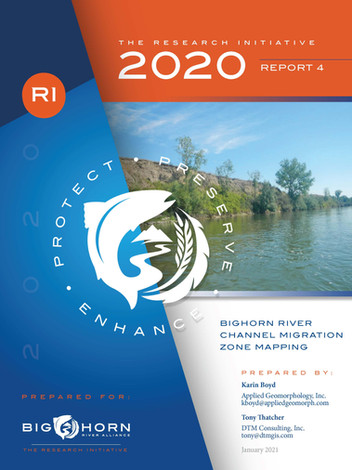 Bighorn River Channel Migration Zone Mapping