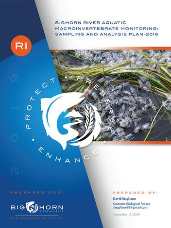 Bighorn River Aquatic Macroinvertebrate monitoring: Sampling and Analysis Plan