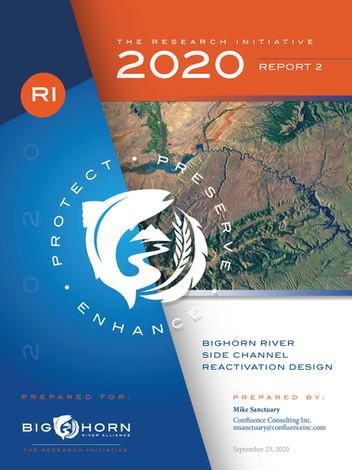 Bighorn River Side Channel Reactivation Design
