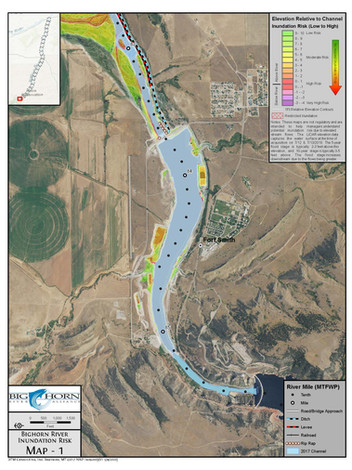 Bighorn River Inundation Risk Atlas