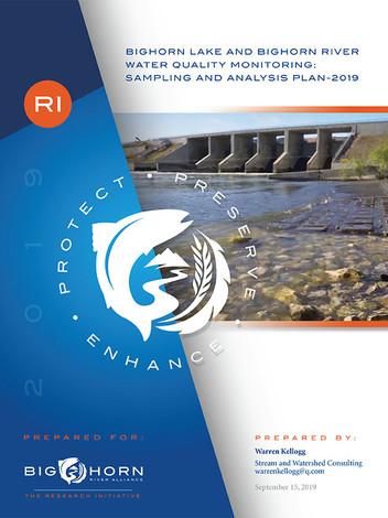 Bighorn Lake and Bighorn River Water Quality Monitoring: Sample and Analysis Plan