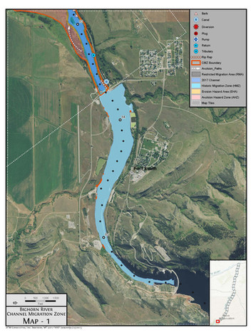 Bighorn River Channel Migration Atlas
