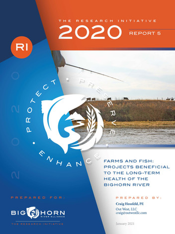 Farms and Fish: Projects Beneficial to the Log-term Health of the Bighorn River