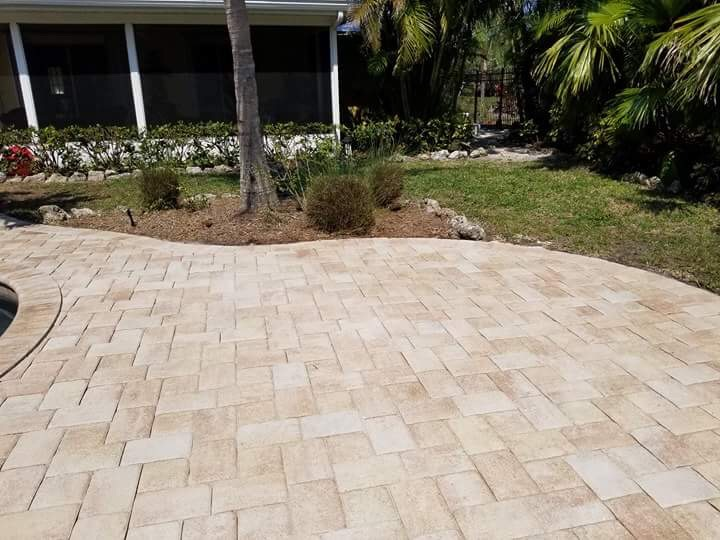 AMI After Brick Paver Sealing