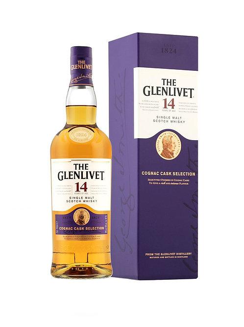 Glenlivet 14 Yr Cognac Cask Selection
