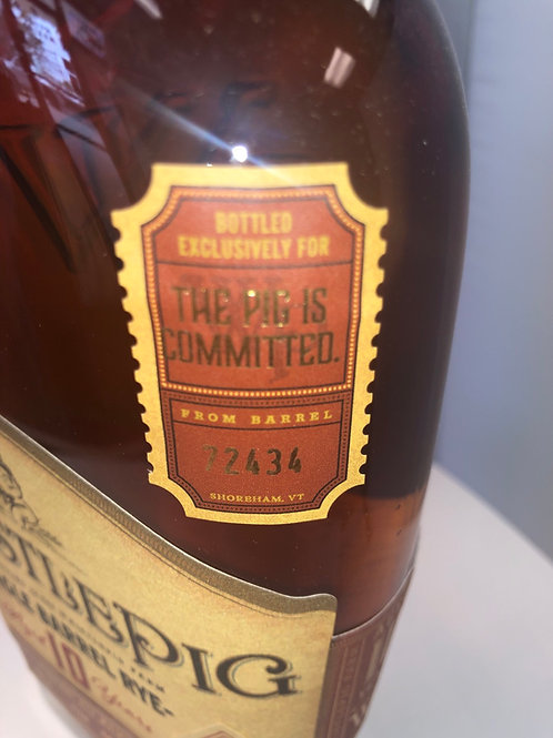 """WhistlePig 10 Yr """"The Pig is Committed"""""""