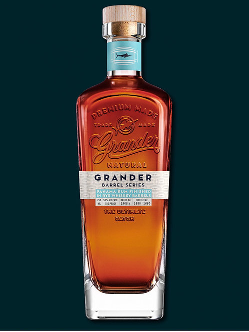 Grander Barrel Series: Rye Finish Panama Rum 750ml
