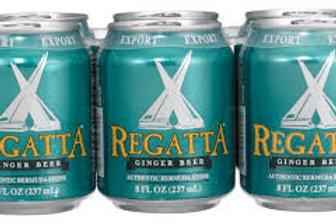 Regatta Ginger Beer 6 Pack 8 oz Cans