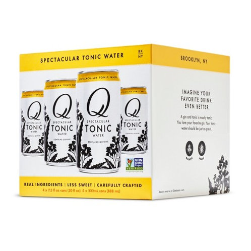 Q Tonic 4 Pack Cans