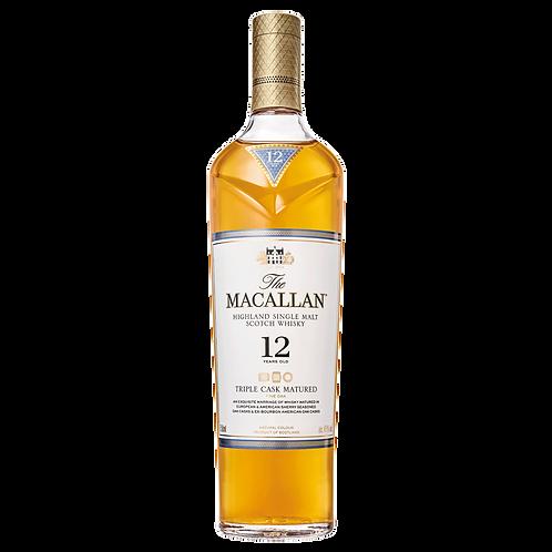 Macallan 12 Year Triple Cask 750ml