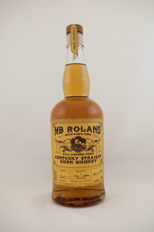 MB Roland Corn Whiskey 750ml