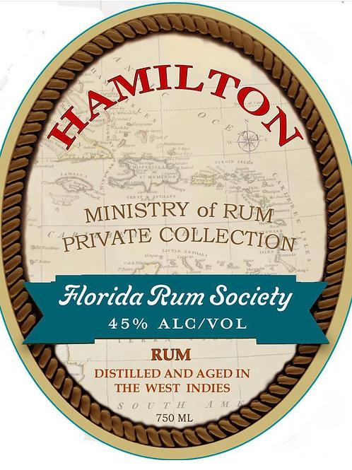 Hamilton Florida Rum Society Blend 750ml