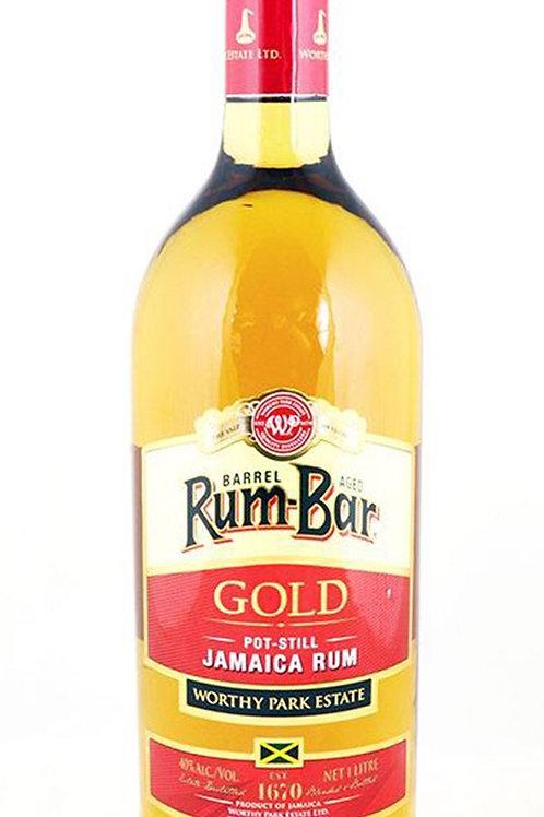 Rum Bar Gold 750ml by Worthy Park