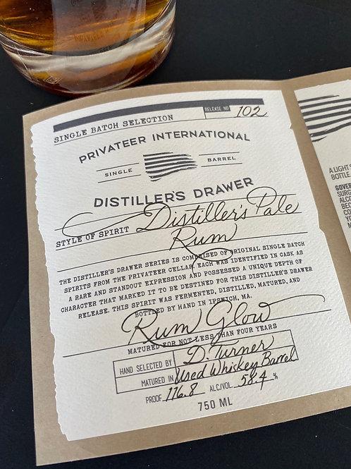 Privateer Distiller's Drawer Rum Glow