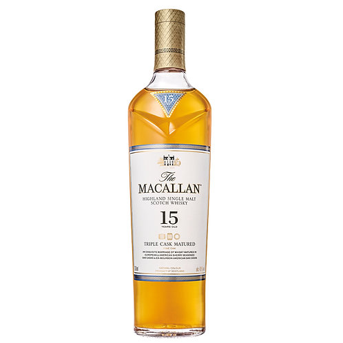 Macallan 15 Year Triple Cask 750ml