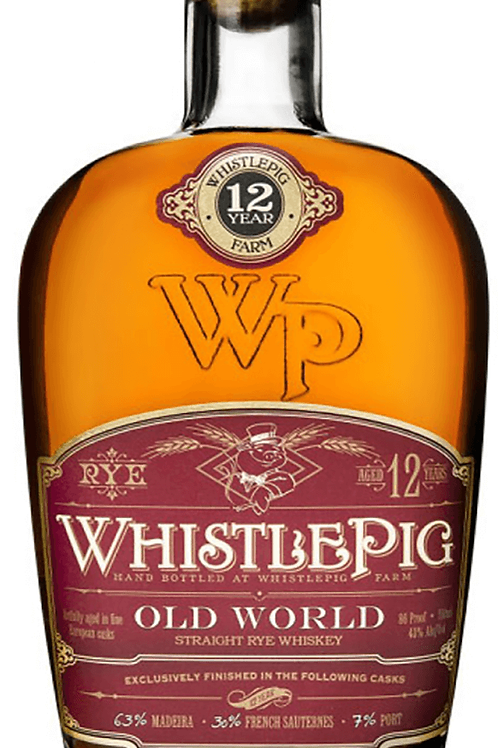 WhistlePig Old World 12 Yr 750