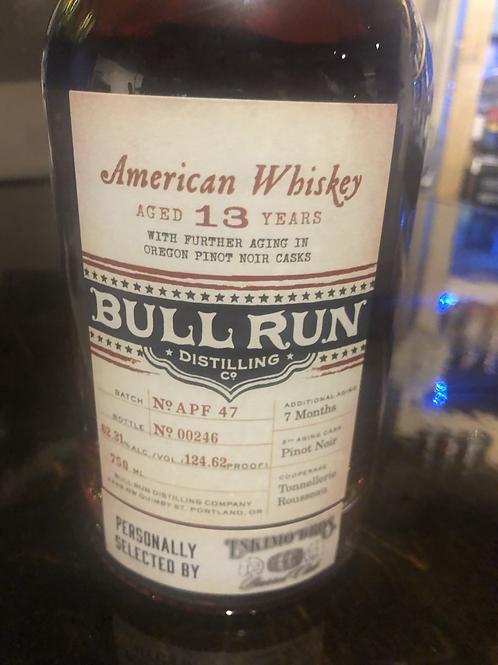 Bull Run Pinot Noir Finish Habs Beens