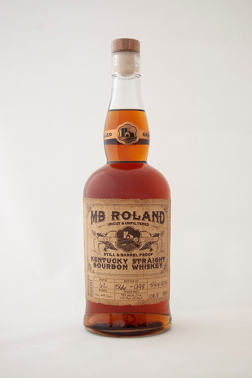 MB Roland Straight Bourbon Whiskey 750ml
