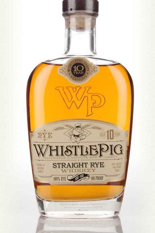 WhistlePig 10 Yr Rye - 750ml