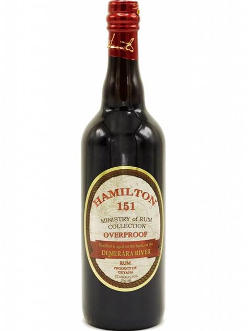 Hamilton 151 Demerara Rum 750ml