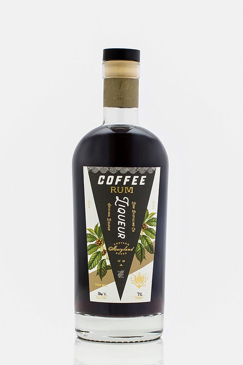 Lyon Distilling Coffee Rum Liqueur 750ml