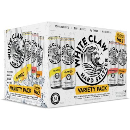 White Claw Variety Pack #2 12 Pack Cans
