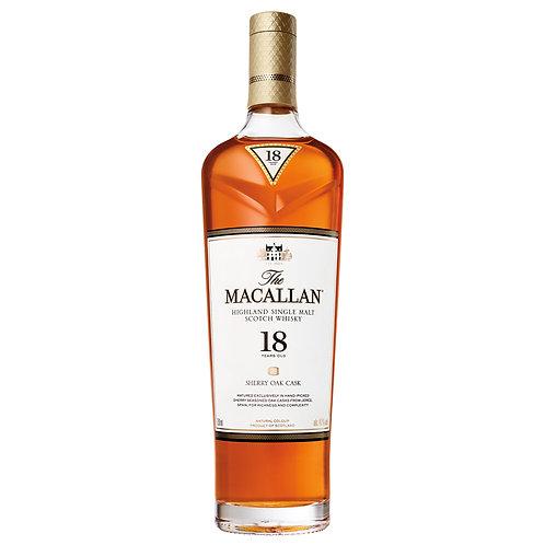 Macallan 18 Year Sherry Oak 750ml