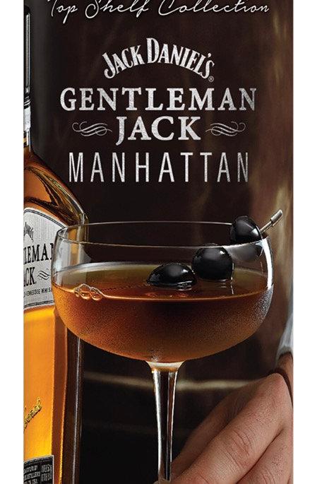 Drinkworks Gentleman Jack Manhattan 4pkds