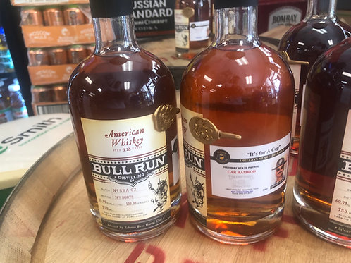 """Bull Run 12 year Uncut 130 proof """"It's for a Cop"""""""