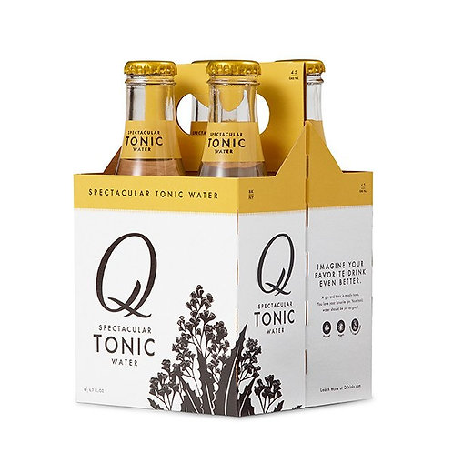 Q Tonic 4 Pack Bottles