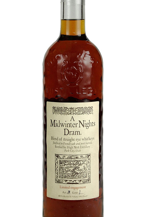 High West Midwinter Nights Dram Act 7