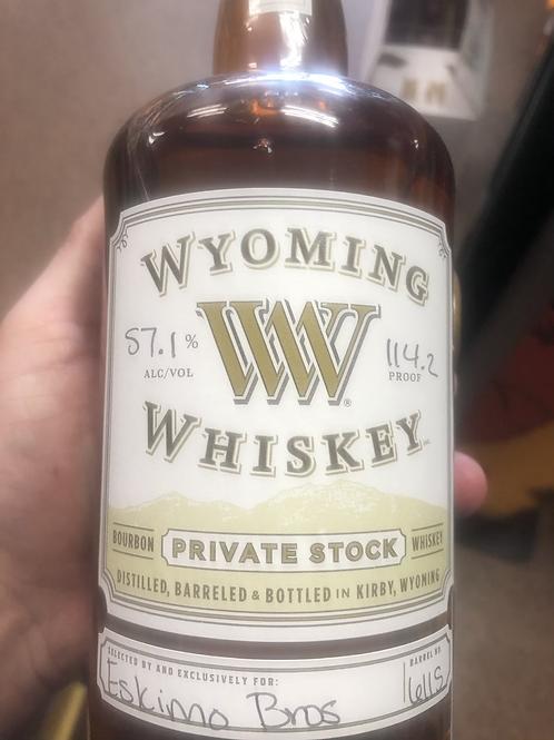 Wyoming Whiskey Eskimo Bros Pick