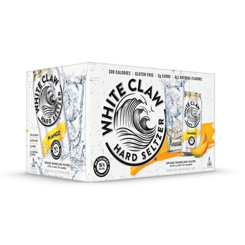 White Claw Mango 12 Pack Cans
