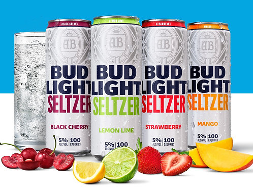 Bud Light Seltzer Variety 12 Pack Can