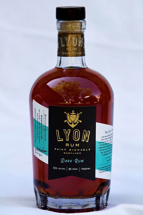 Lyon Distilling Dark Rum 750ml