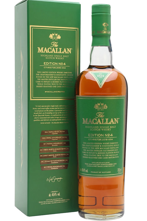 Macallan Edition 4 Sarasota Liquor Store Near Me