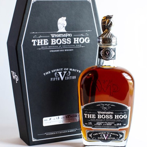 Whistle Pig Boss Hog V Liquor Store Sarasota