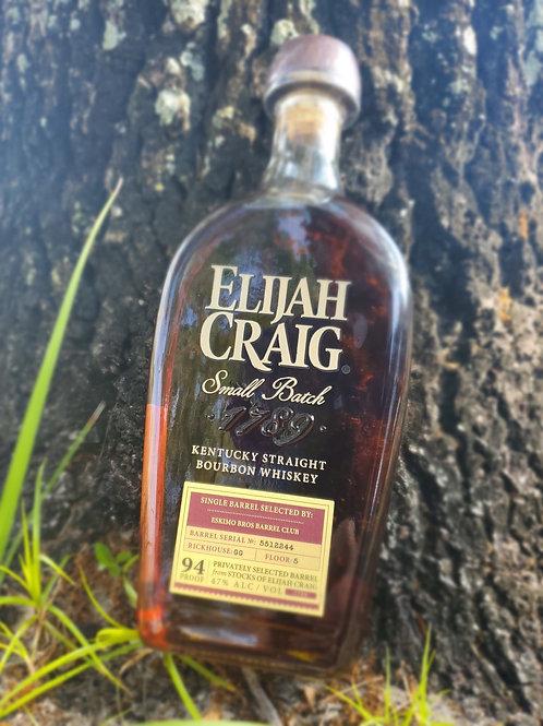 Elijah Craig Eskimo Bros Barrel Club store pick