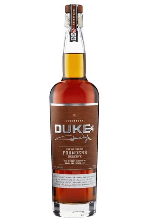Duke Double Barrel Rye 750ml