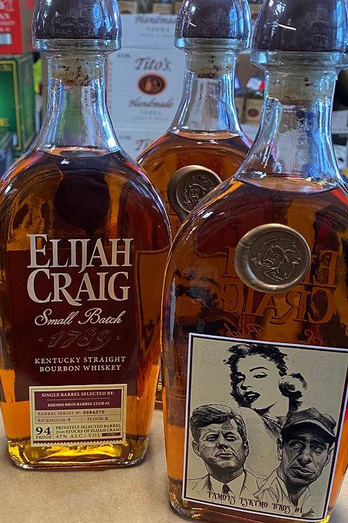 "Elijah Craig ""Famous Eskimo Bros #1"" 10 yr"
