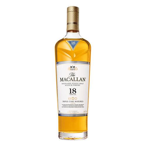 Macallan 18 Year Triple Cask 750ml